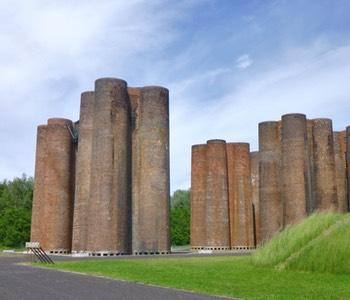 Impression aus der Lausitz: Biotürme Lauchhammer