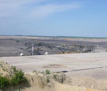 Impression aus der Lausitz: Tagebau