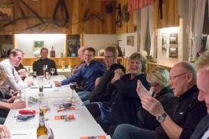 Senftenberger Bürgermeister zu Besuch zum Erzählsalon in Sedlitz.