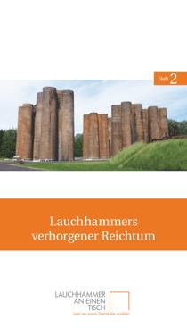 Titelseite des zweiten Heftes von Lauchhammer an einen Tisch: »Lauchhammers verborgener Reichtum«